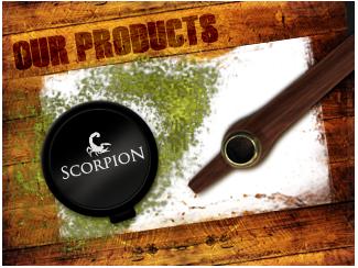 Scorpion Premium Dokha Tobacco & Medwakh Pipe